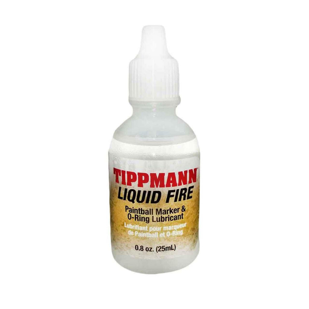 Tippmann Liquid Fire 8oz Oil - Eminent Paintball And Airsoft
