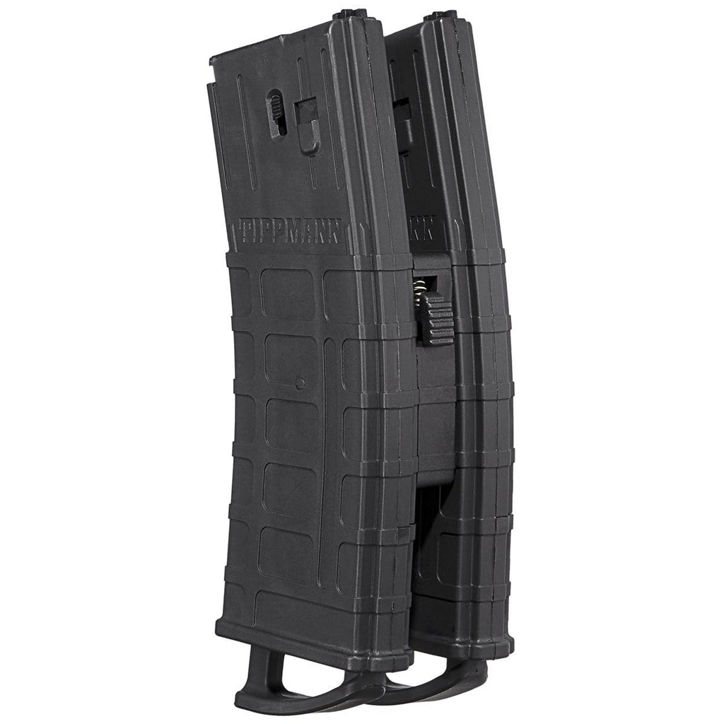 TIPPMANN TMC .68 CALIBER 20 ROUND MAGAZINE - 2 PACK W/ COUPLER - BLACK - Eminent Paintball And Airsoft