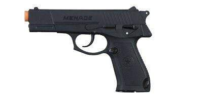 GI Sportz Menace .50 Cal Pistol Black, Includes 1 Magazine - Orange Tip - Eminent Paintball And Airsoft