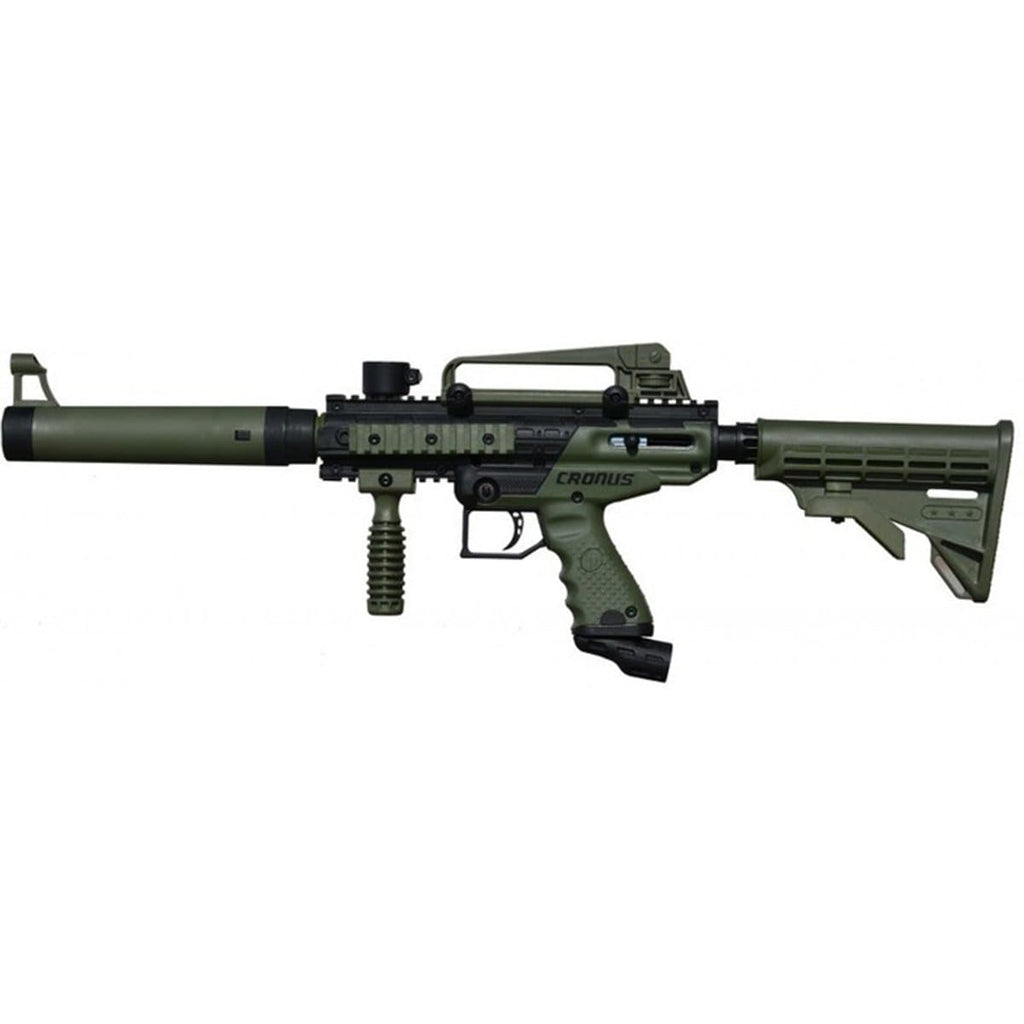 Tippmann Cronus Tactical Paintball Gun - Olive/Black - Eminent Paintball And Airsoft