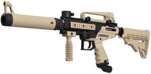 Tippmann Cronus Tactical Paintball Gun - Tan/Black - Eminent Paintball And Airsoft