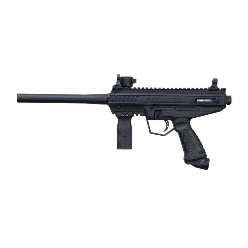 TIPPMANN STORMER BASIC PAINTBALL GUN - BLACK - Eminent Paintball And Airsoft