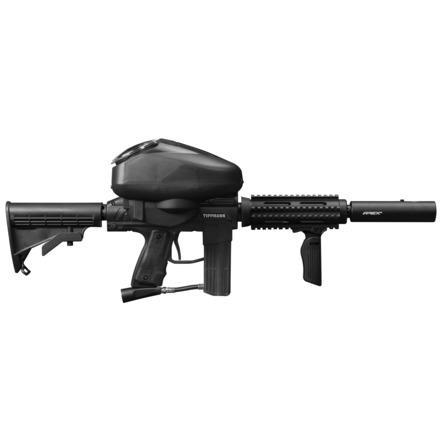 TIPPMANN STRYKER AR1 ELITE PAINTBALL GUN - BLACK - Eminent Paintball And Airsoft