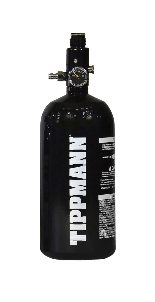 Tippmann 48/3000 Flat Bottom Aluminum Compressed Air Tank - Eminent Paintball And Airsoft