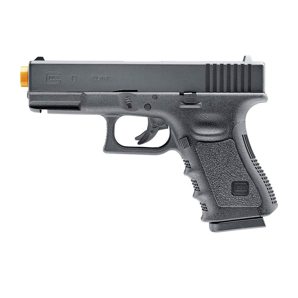 Elite Force Licensed GLOCK 19 Gen3 NBB Airsoft Pistol - CO2 - Eminent Paintball And Airsoft