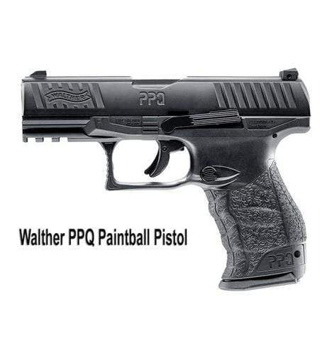 WALTHER PPQ M2 PAINTBALL PISTOL - BLACK - Eminent Paintball And Airsoft