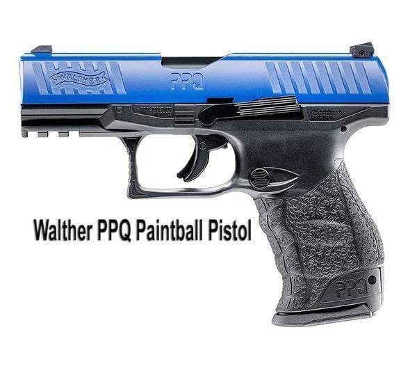 WALTHER PPQ M2 PAINTBALL PISTOL - BLUE - Eminent Paintball And Airsoft
