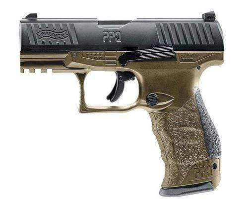 WALTHER PPQ M2 PAINTBALL PISTOL - FDE - Eminent Paintball And Airsoft
