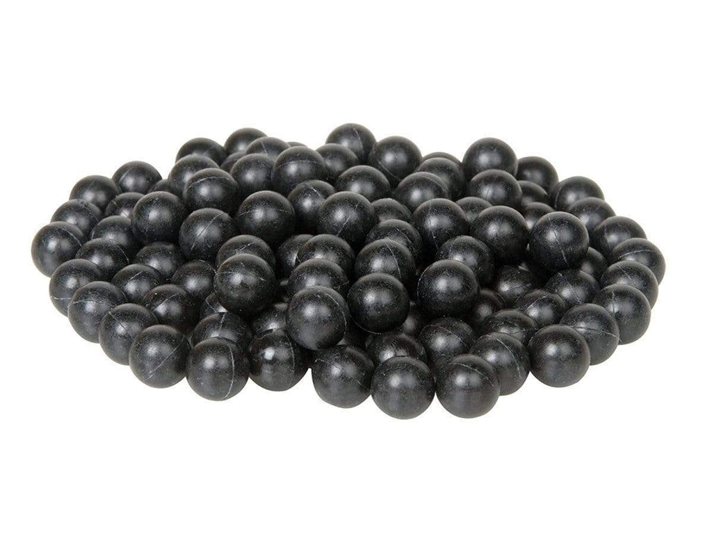 T4E .43 CAL RUBBER BALLS 500 CT - BLACK - Eminent Paintball And Airsoft
