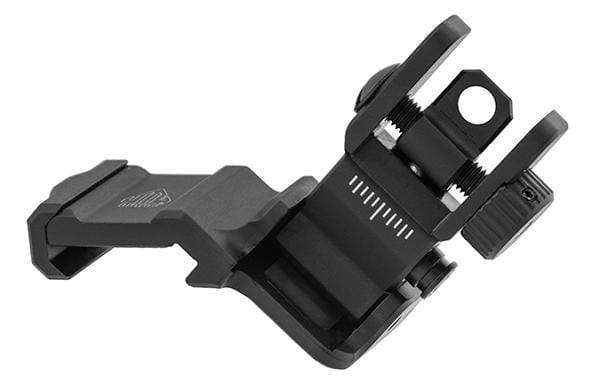 UTG ACCU-SYNC® 45 Degree Angle Flip Up Rear Sight - Eminent Paintball And Airsoft