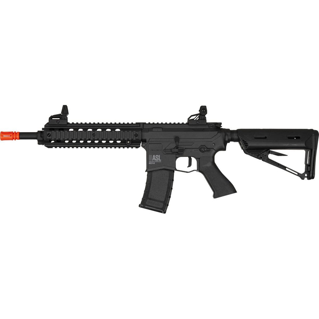 Valken ASL Series M4 Airsoft Rifle AEG 6mm Rifle - MOD-M - Black - Eminent Paintball And Airsoft