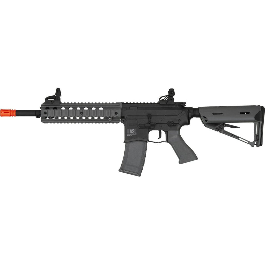 Valken ASL Series M4 Airsoft Rifle AEG 6mm Rifle - MOD-M - Grey/Black - Eminent Paintball And Airsoft