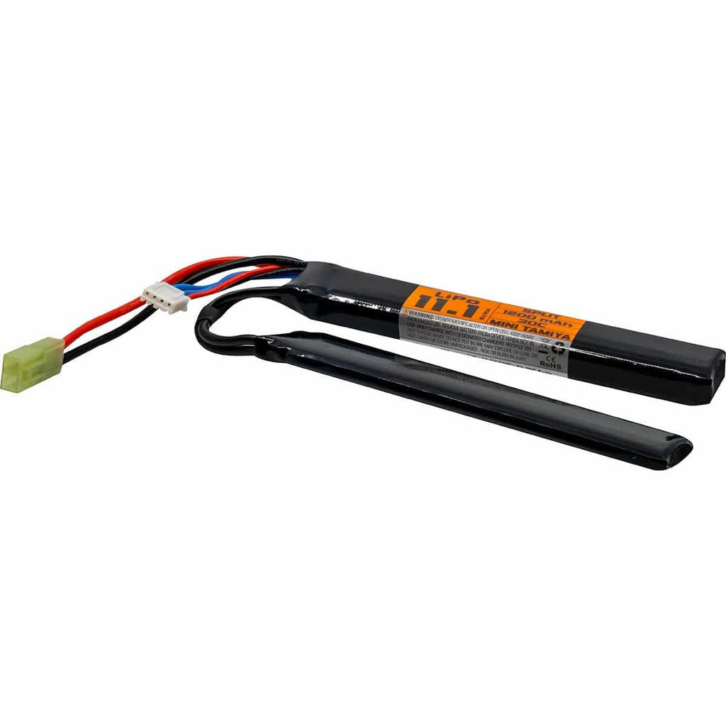 LiPo 11.1v 1200mAh 30c Split Style - Eminent Paintball And Airsoft