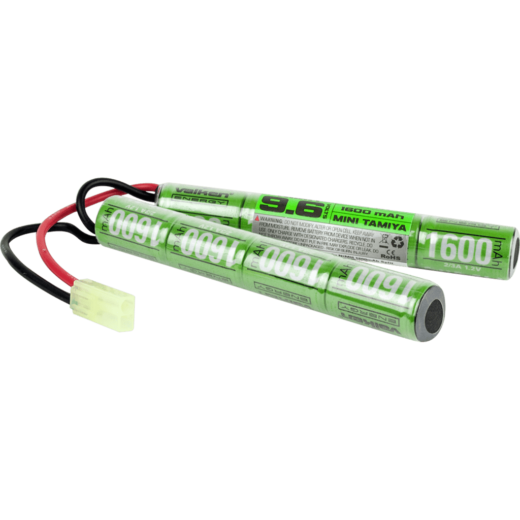 Valken Battery - NiMH 9.6v 1600mAh Split Style - Eminent Paintball And Airsoft