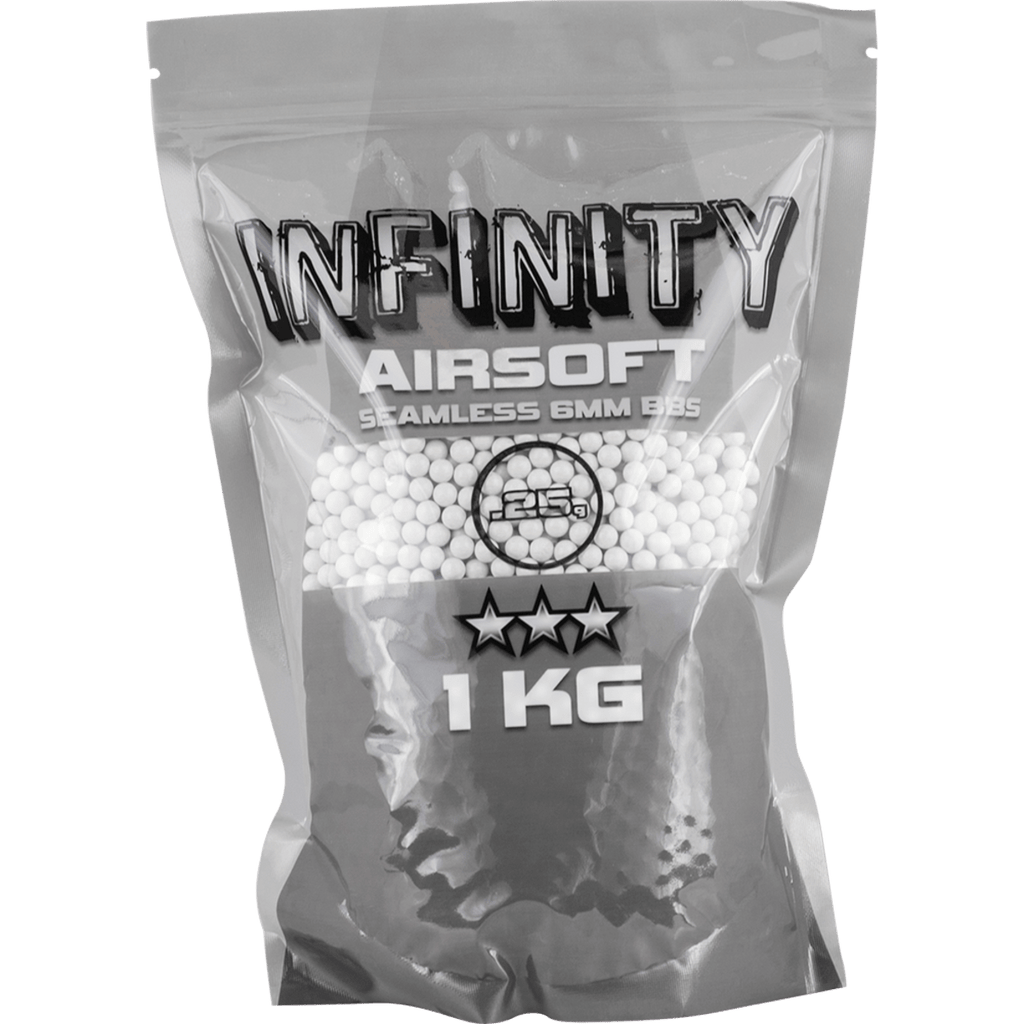 VALKEN INFINITY AIRSOFT BB- .25G 4000 RDS - Eminent Paintball And Airsoft