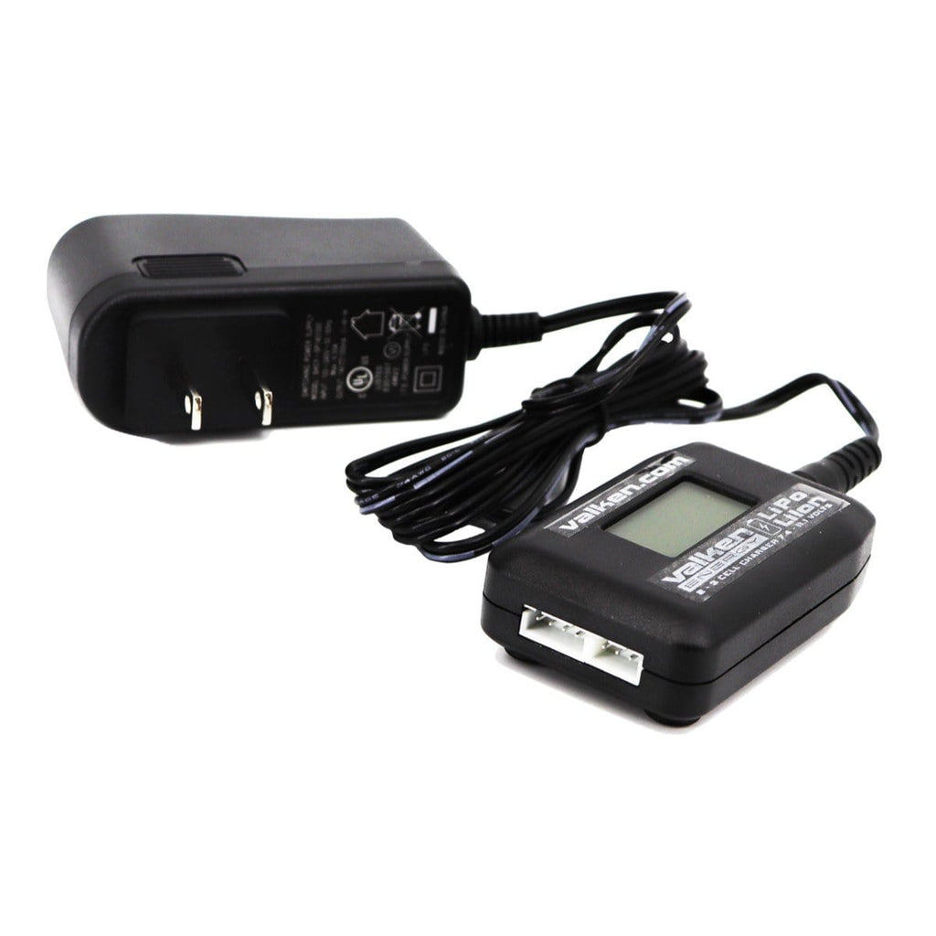 Valken Airsoft Li-Ion/Lipo Smart Battery Charger - Digital Display for 2-3 Cell Batteries - Eminent Paintball And Airsoft