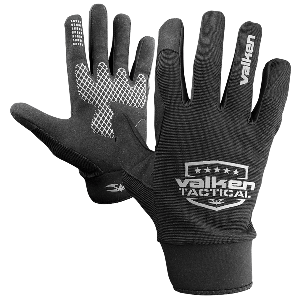 Valken Sierra II Gloves - Black - Eminent Paintball And Airsoft