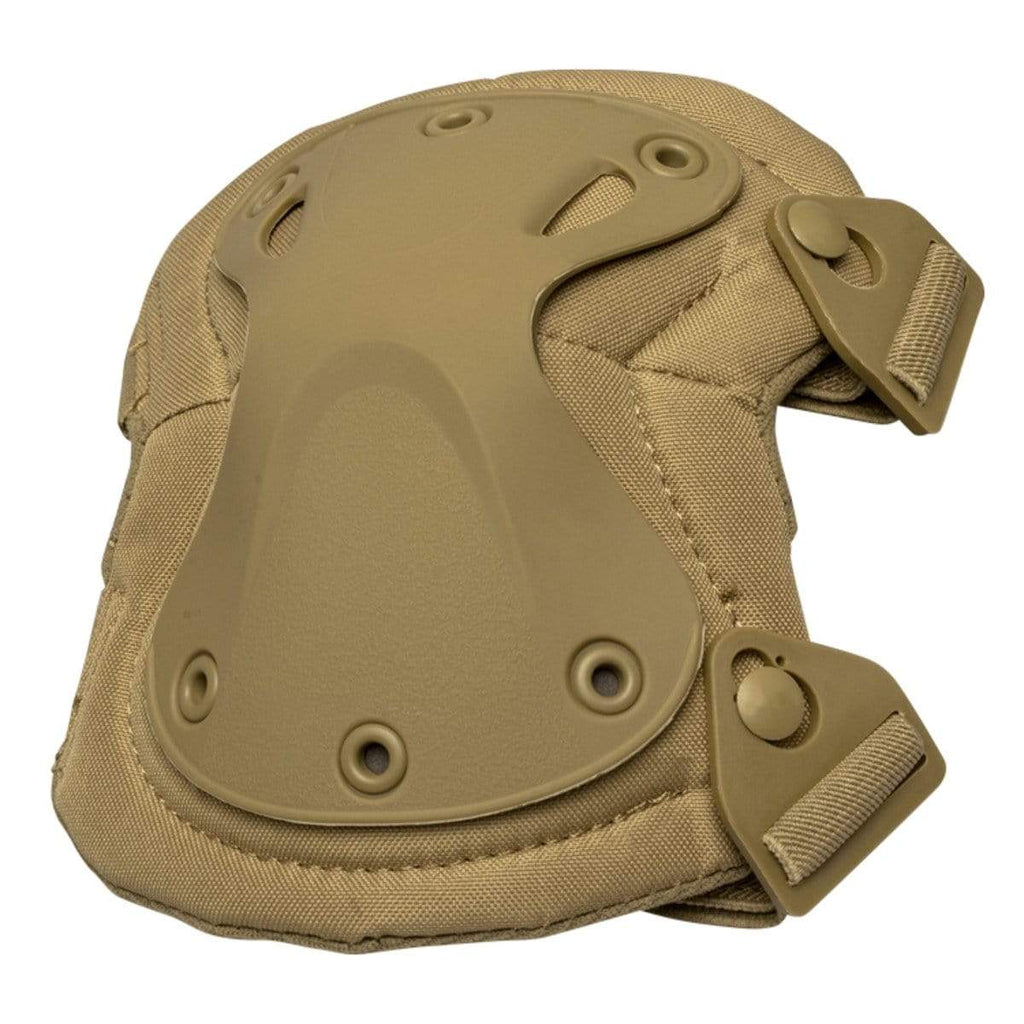Valken Knee Pads - Tan - Eminent Paintball And Airsoft