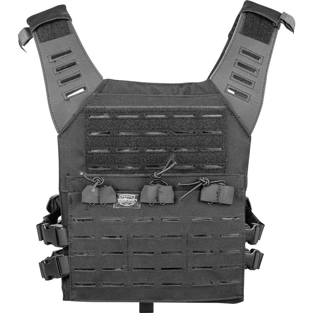 Valken Vest BLACK / Regular Vest - Valken Plate Carrier LC