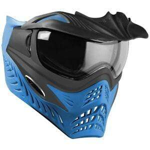 V-Force Grill Paintball Mask - Azure (Grey on Blue) - Eminent Paintball And Airsoft