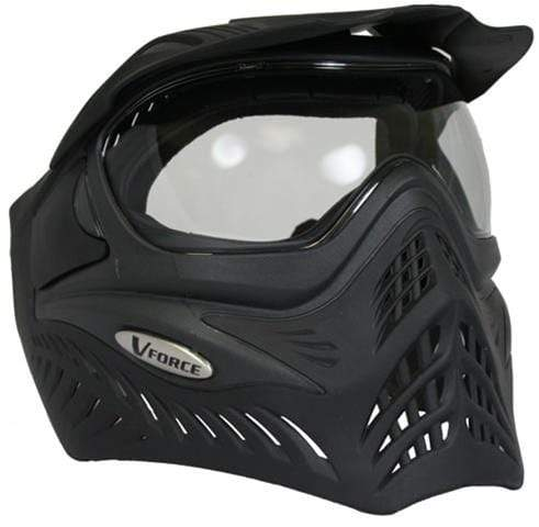 V-Force Grill Paintball Mask - Black (Shadow) - Eminent Paintball And Airsoft