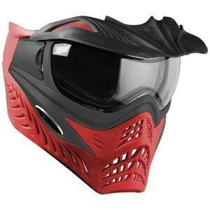 V-Force Grill Paintball Mask - Scarlet (Grey on Red) - Eminent Paintball And Airsoft