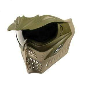V-Force Grill Paintball Mask - Swamp (Olive Drab/Tan) - Eminent Paintball And Airsoft