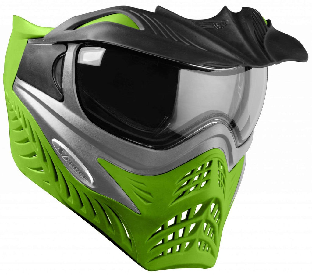 V-Force Grill SC Paintball Mask - Grey on Lime - Eminent Paintball And Airsoft