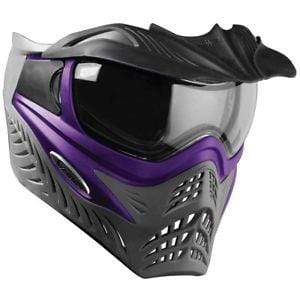 V-Force Grill SC Paintball Mask - Purple on Grey - Eminent Paintball And Airsoft