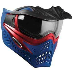 V-Force Grill SC Paintball Mask - Red on Blue - Eminent Paintball And Airsoft