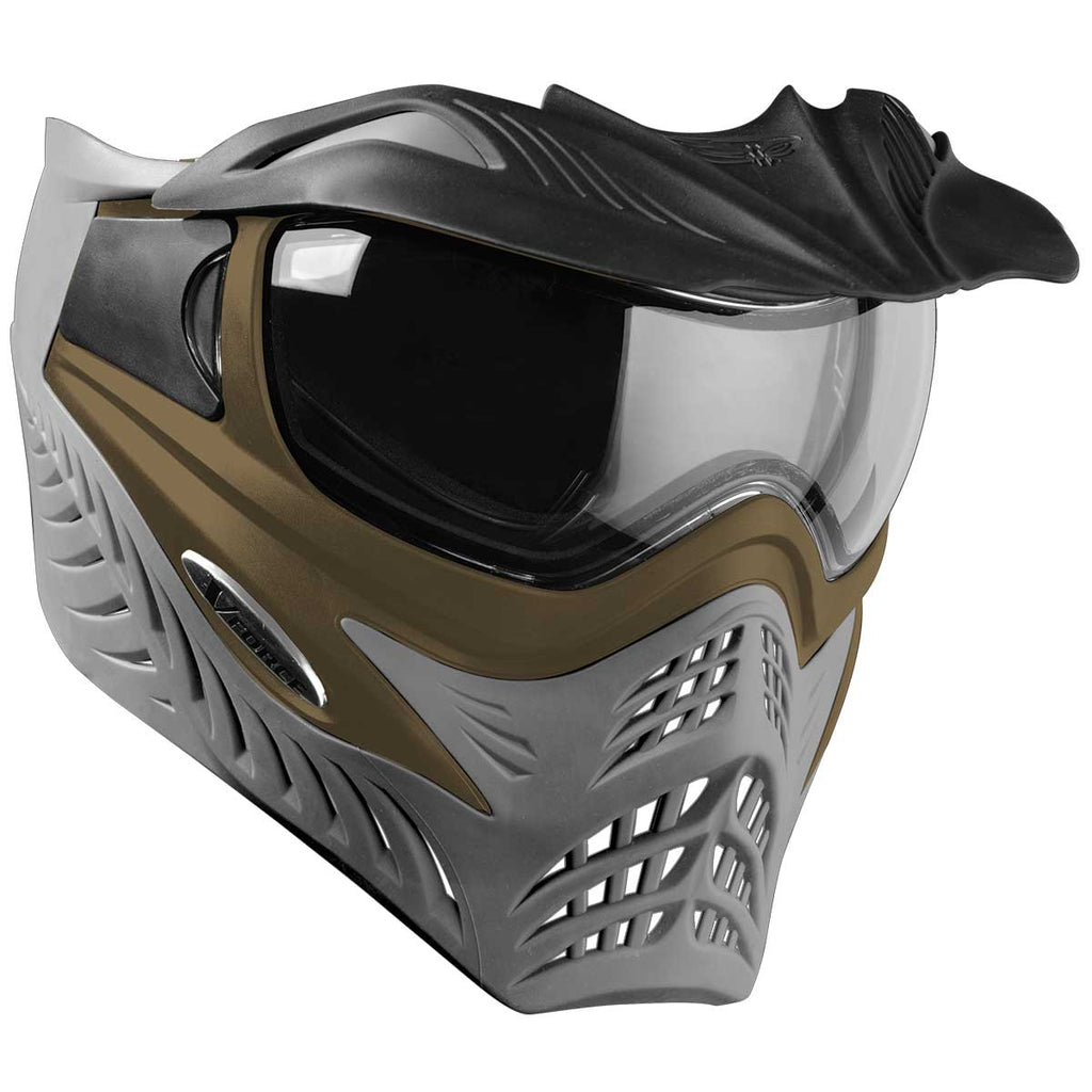 V-Force Grill SC Paintball Mask - Tan on Grey - Eminent Paintball And Airsoft