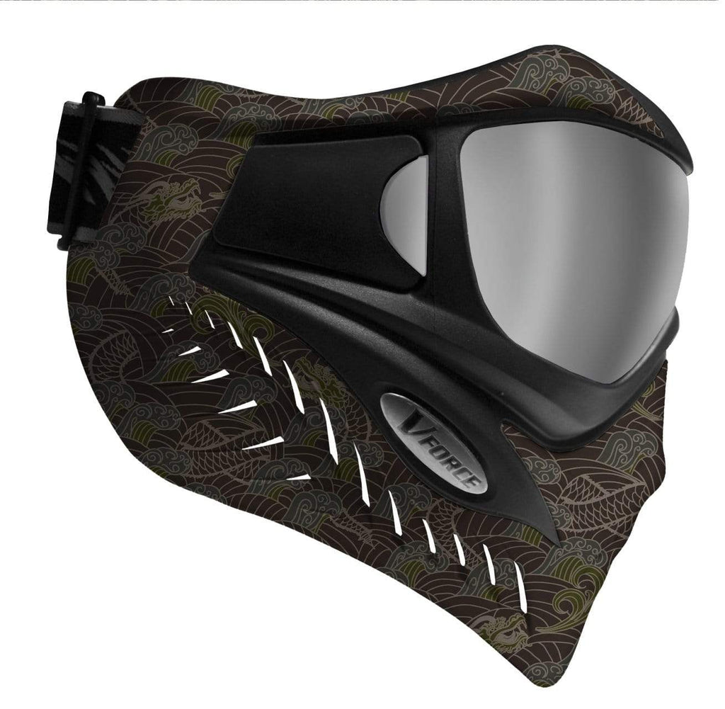 V-Force Grill SE Paintball Mask - Dragon Fury - Eminent Paintball And Airsoft