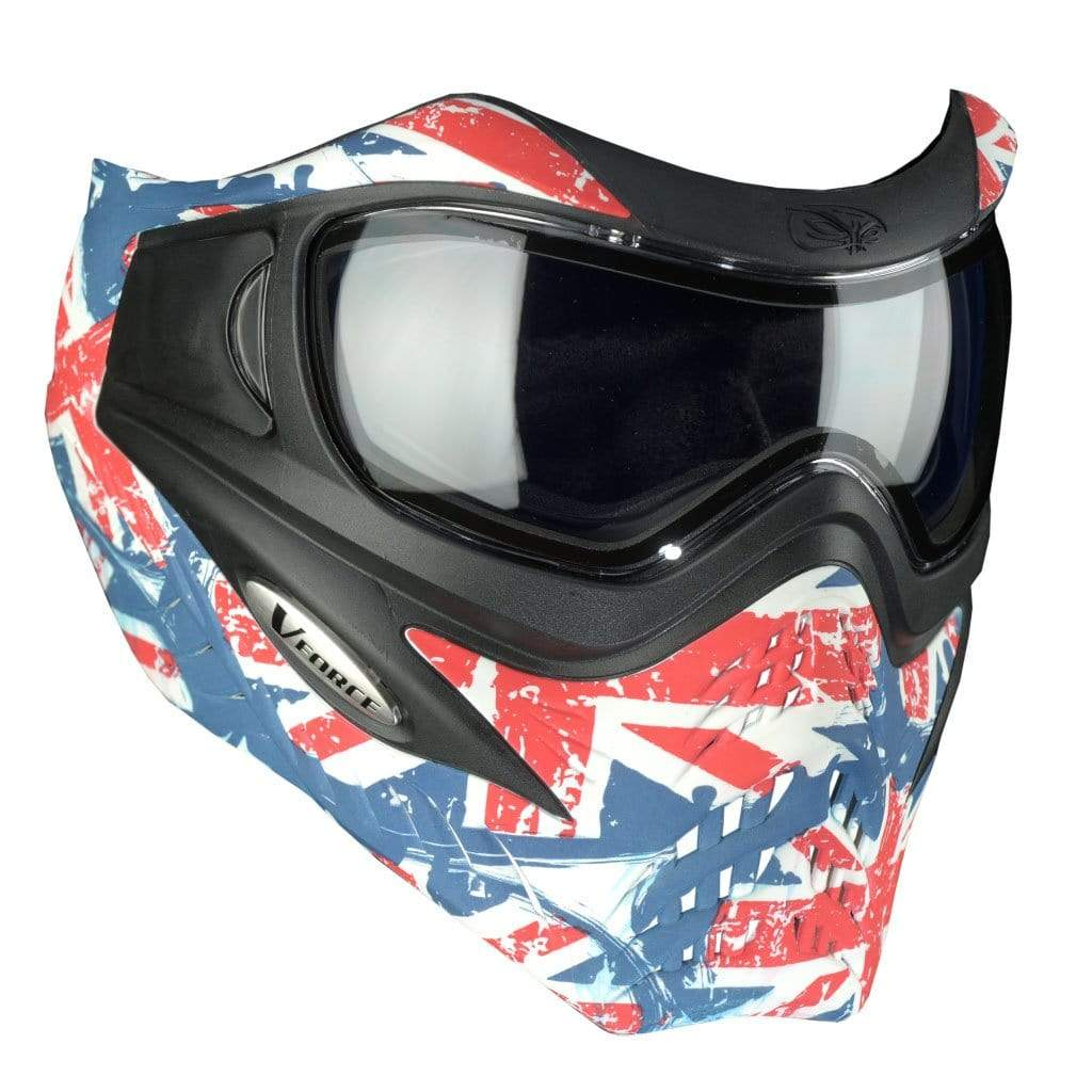 V-Force Grill SE Paintball Mask - Union Jack - Eminent Paintball And Airsoft