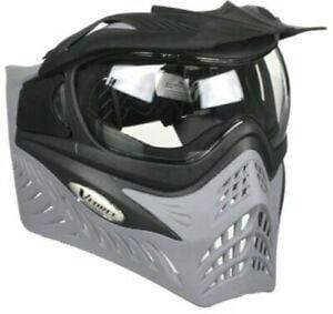 VForce Grill Mask Reverse - Shark (Charcoal) - Eminent Paintball And Airsoft