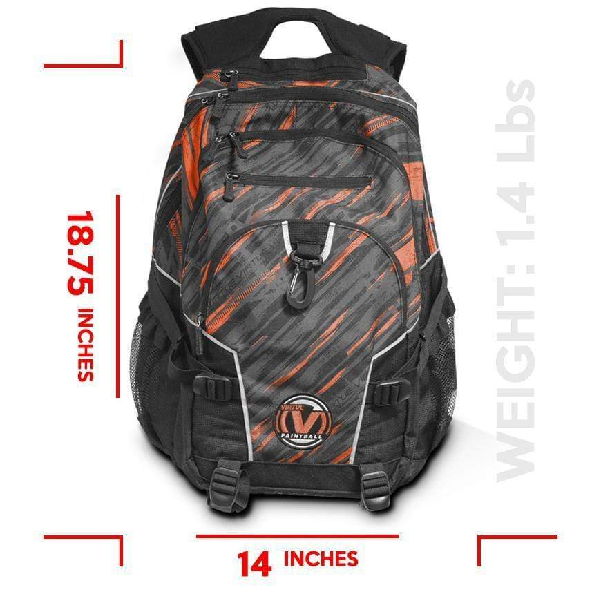 Virtue Wildcard Backpack - Graphic Coral Red Wildcard Backpack / Graphic Coral Red - Eminent Paintball And Airsoft