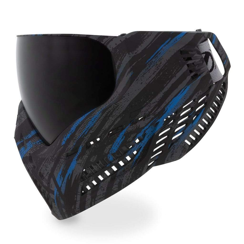 VIRTUE VIO ASCEND GOGGLE - GRAPHIC CYAN - Eminent Paintball And Airsoft