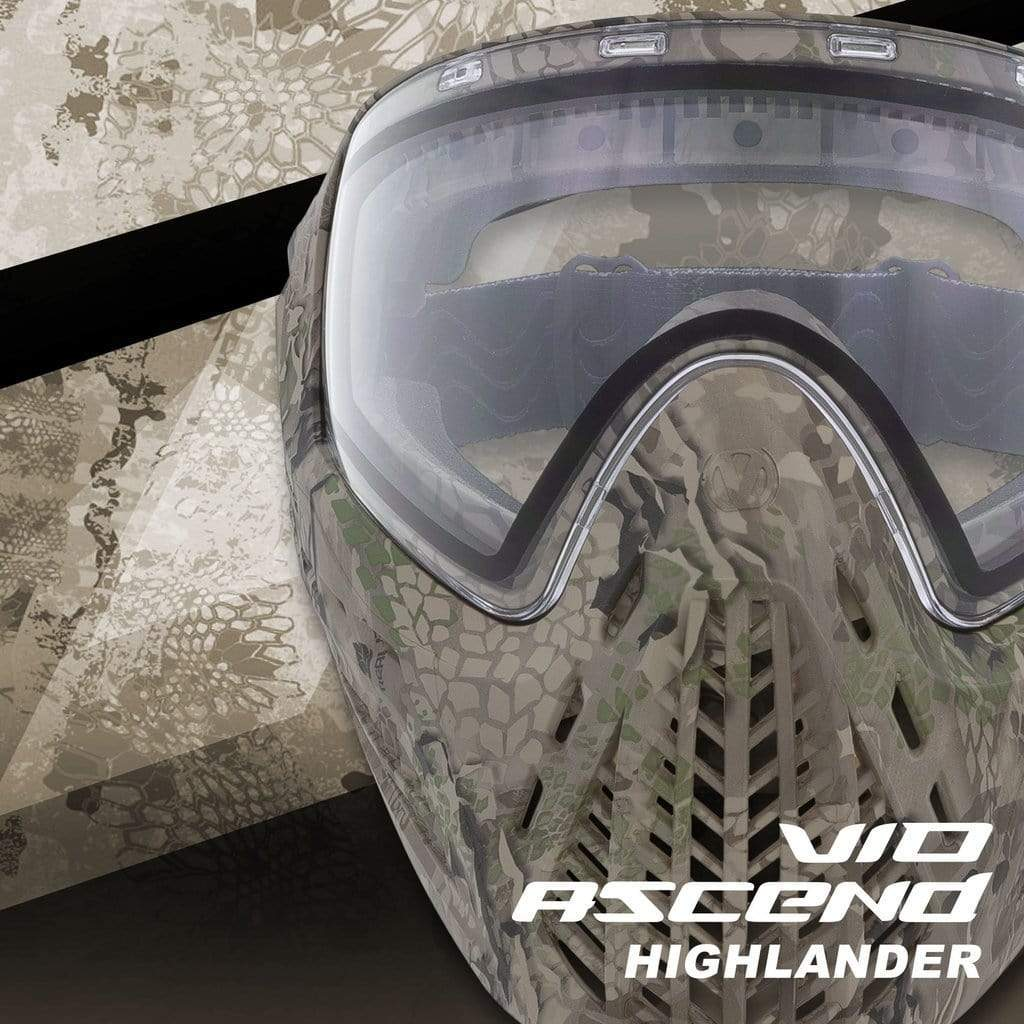 VIRTUE VIO ASCEND GOGGLE - HIGHLANDER - Eminent Paintball And Airsoft