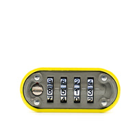 DaVinci Lock - High Collar Lock - Yellow - 10 Pack