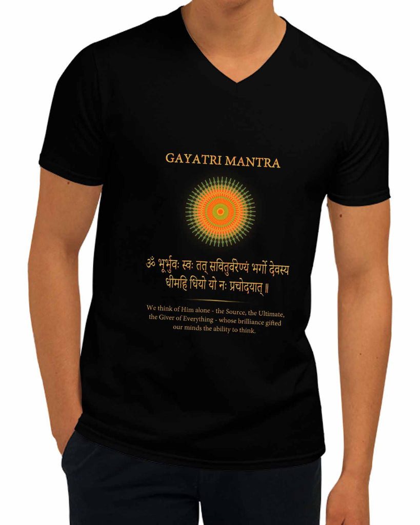 Gayatri Mantra | V Neck