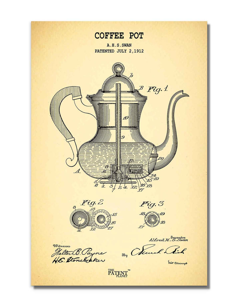 Coffee Pot | Rolled