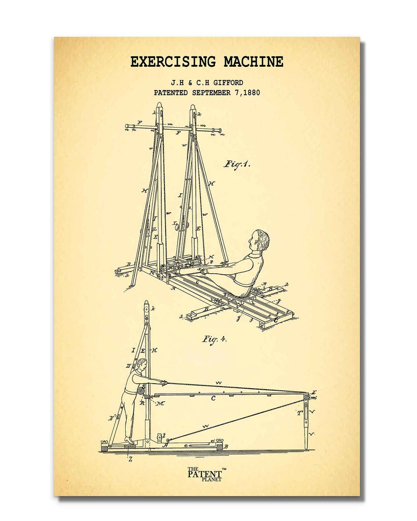 Exercising Machine | Rolled