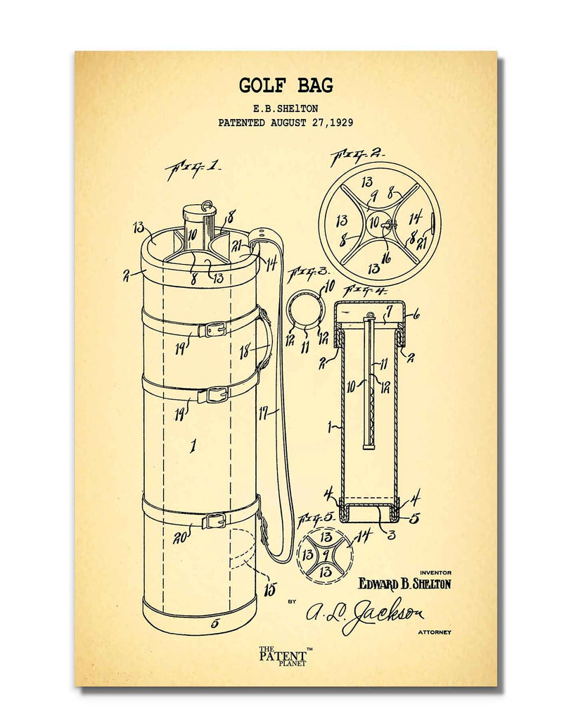 Golf Bag | Rolled