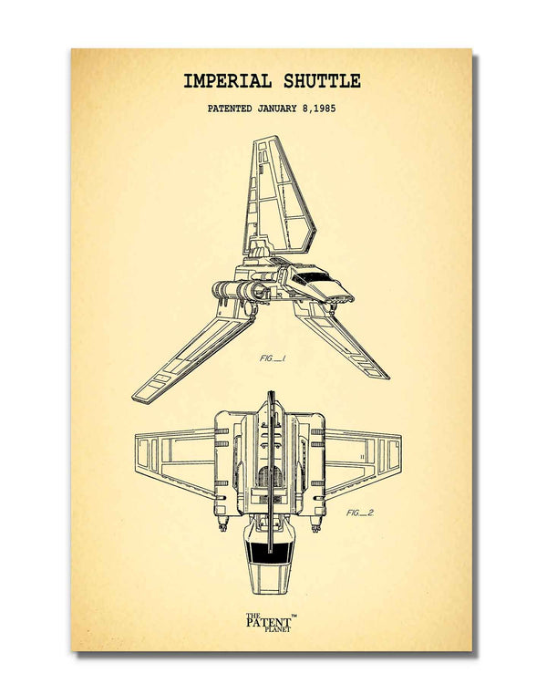 Imperial Shuttle | Rolled