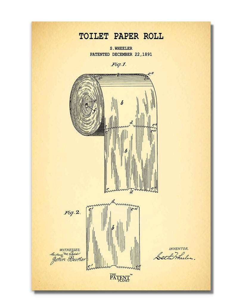 Toilet Paper Roll | Rolled