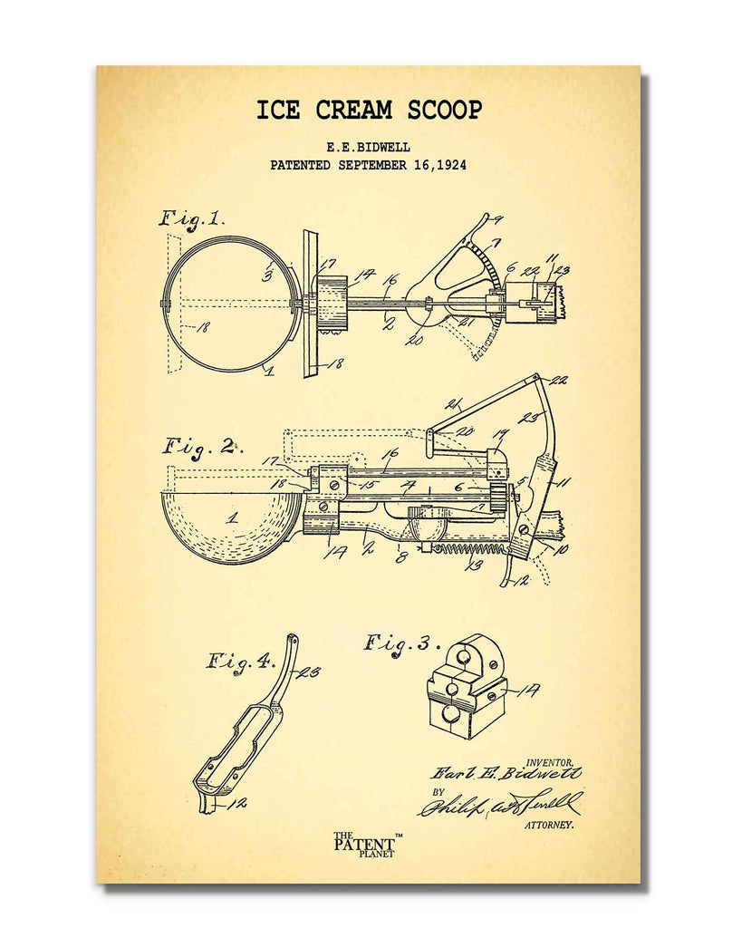 Ice Cream Scoop | Rolled