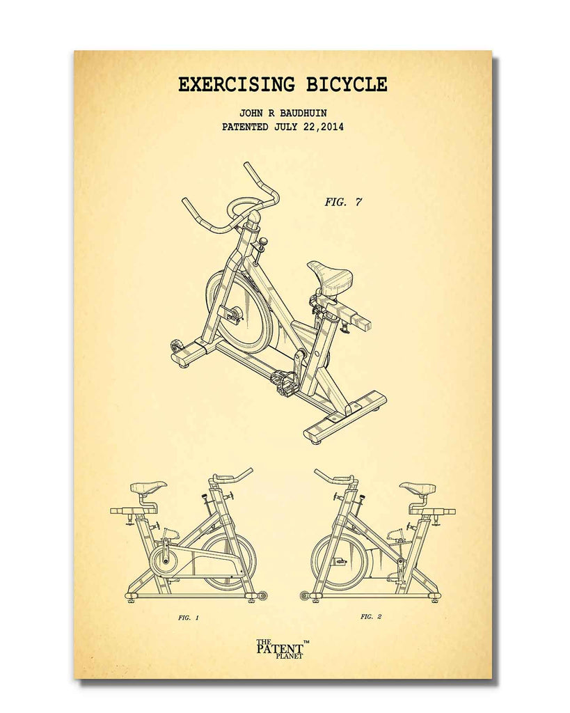 Exercising Bicycle | Rolled