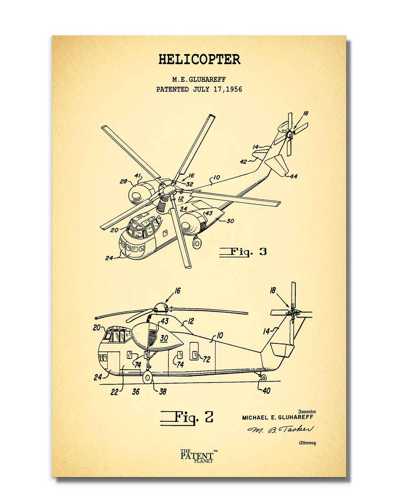 Helicopter | Rolled