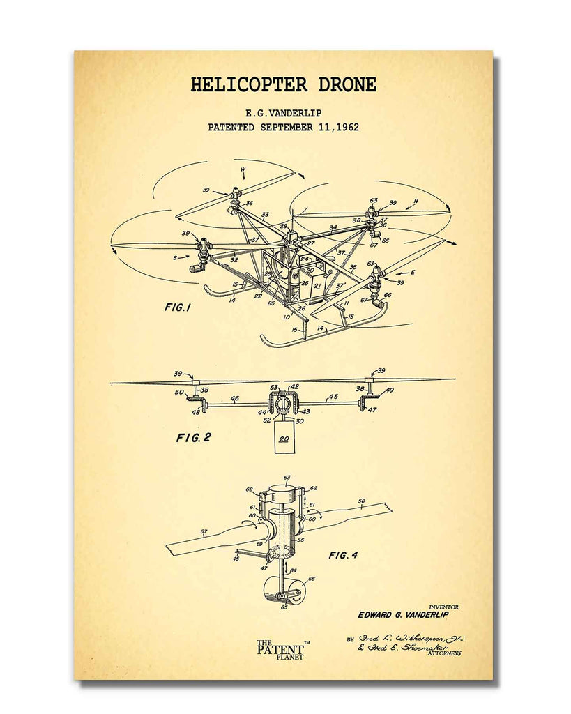 Helicopter Drone | Rolled