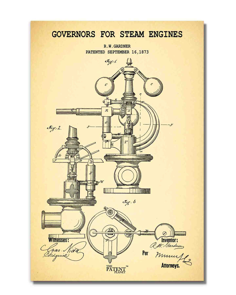 Governors For Steam Engines | Rolled