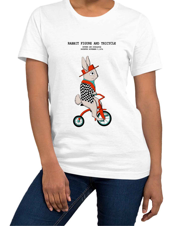 Rabbit Figure and Tricycle